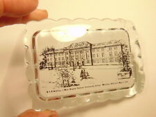 glass paperweight: B & O Building, West VA Northern Community College, Wheeling