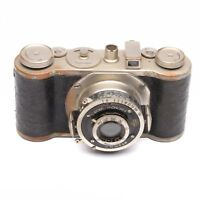 Wirgin Edinex Camera with Compur & Gewironar 50mm f/3.5 Lens c. 1935-50