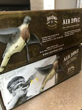 TWO NEW Lucky Duck AIR DOVE DECOY with Ground Stake Spinning Wing WIND MOTION