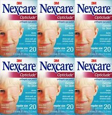 3M Nexcare Opticlude Eye Patch Regular Size 6 Boxes 120 Pcs. Exp. 2021