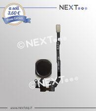 Tasto home IPHONE 5S Ricambio Flex Flat Pulsante NERO