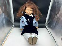 Künstlerpuppe Vinyl Puppe 55 cm. Top Zustand