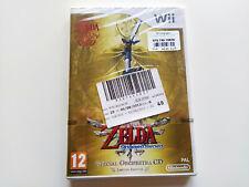 The Legend of Zelda Skyward Sword nuevo y precintado pal/esp WII