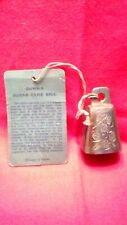 Gunna Sugar Cane Brass Bell Of Sarna (1952) With Original Tag Attached