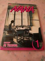 Nana Volume # 1 Shojo Beat Manga TPB Graphic Novel Ai Yazawa Drama J24