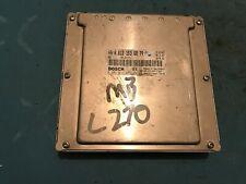 GENUINE MERCEDES W209 CLK C270 CDI COUPE ENGINE ECU CONTROL MODULE A6121536879