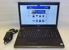 Dell Precision M4700 laptop 2.90ghz core i7 3GB 480gb SSD Windows 10 64 Camera