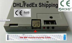 Slim Floppy drive Emulator Tektronix Oscilloscopes   (1.44mb - 26 FFC 1mm Pitch)