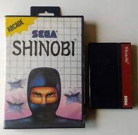 Shinobi (Sega Master System 1988) SMS -  Tested Working Authentic