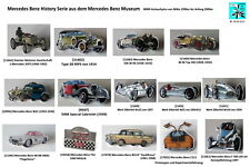 MERCEDES-BENZ History Serie MB Museum Oldtimer lapel pins AUSSUCHEN