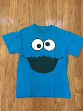 Sesame Street Cookie Monster Tee Shirt Side Medium