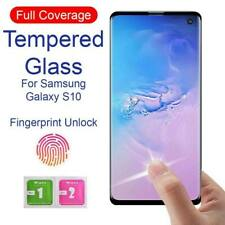 100% Genuine Full Curved Tempered Glass Screen Protector For Samsung Galaxy S10