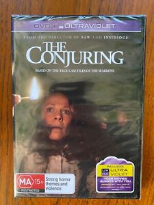 The Conjuring DVD Region 4 New & Sealed