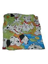 Disney 101 Dalmations Twin Flat Sheet Cutter Fabric Craft
