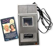 Vintage Solidex Model 829 Beta Video Rewinder Working Betamax Tape Movie Rare