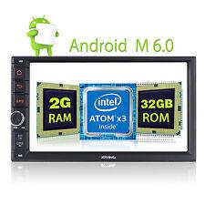 "Android 6.0 Autoradio Touchscreen 7"" Doppel 2 DIN Bluetooth 2GB Ram 32GB Rom GPS"