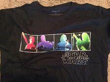 Disney Store Star Wars The Force Awakens  women's shirt 2XL New!