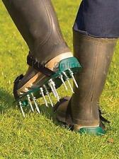 lawn aerating strap-on shoes sandals 50mm spikes