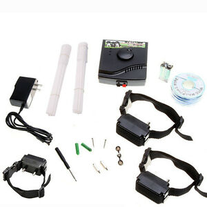 New 3 Dog Waterproof Electronic Pet Fence System