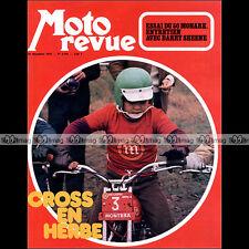 MOTO REVUE N°2105 BENELLI 750 SEI MONARK PATRICK PONS MOBYLETTE CADY SHEENE 1972