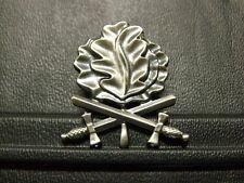 Pin Eichenlaub mit Schwertern zum Ritterkreuz - 3,5 x 3 cm