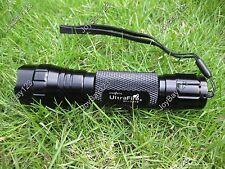 Ultrafire WF-501B 1W 365 nm Ultraviolet UV LED Lamp Black Light Flashlight Torch