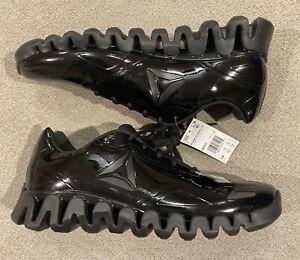 Reebok Zigtech Zig Pulse SE Low Black Shoes Mens Size 14 DV5221