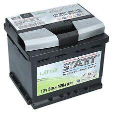 Autobatterie 50Ah Extreme Ultra SMF +30% mehr Startleistung PREMIUM BATTERIE