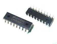 10 Piezas Lm3915 Lm3915n Lm3915n-1 IC Controlador Dot Bar Pantalla 18-dip Nuevo