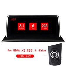 "BMW X3 E83 10.25"" Android 8.1 SixCore Auto GPS Navigation Radio 2+32G + iDrive"