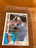 1984 Topps Cal Ripken Jr. #490 Baltimore Orioles HOF The Iron Man