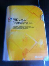 MS Visio Professional 2007, Deutsch, Vollversion mit MwSt-Rechnung