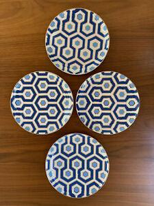 Jonathan Adler Newport Porcelain Canapé Plate Set