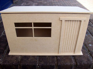 Large Garden Shed (Kit) 12th Scale for Dolls House