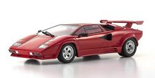 Kyosho 1:18 Lamborghini Countach LP5000 QV in Red with Red Rear Wing