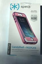 Speck Products MightyShell Case + FacePlate for iPhone 5/5S/SE Pink New