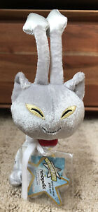 Neopets Plushie Limited Edition Silver Aisha with Tags (No Virtual Code)