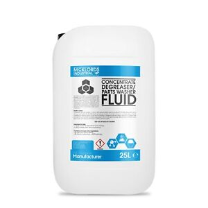 Concentrate Engine Degreaser / Parts Washer Fluid - 25 Litres