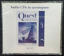 AUDIO CD's To Accompany Quest Listening & Speaking In The Academic World Book 3