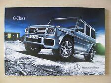 Mercedes G Class UK Sales Brochure (2013 / 2014), Inc G55 AMG