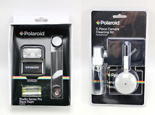 NEW Polaroid Studio Series Pro Slave Flash PLASF18 & 5 Piece Cleaning Kit Lot