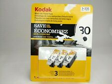 Kodak 30 Black Ink Cartridge Triple Pack