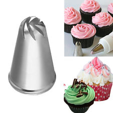 Drop Flower Spiral Icing Piping Tips Nozzle Cake Cupcake Decorating Pastry Tool