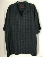 Byron Nelson Eleven Straight Men's Size XL Short Sleeve Button Front Shirt