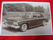 1964 STUDEBAKER CRUSIER V8   11 X 17  PHOTO  PICTURE