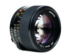 MINOLTA MD  50mm f1.2  for mirrorless cameras  EXCELLENT