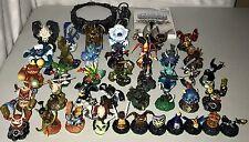 Lot of Skylanders Spyro's Adventure w/40 Figures Nintendo Wii Game Portal Magic