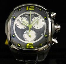 Invicta Men's Tonneau Lupah Revolution Swiss Made Chronograph SS Bracelet Watch