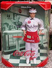 """Coca-Cola Soda Jerk Ken Doll Barbie Collector Edition """""""