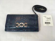 NWT Brighton Leather Seven LG Wallet Purse Option in Indigo